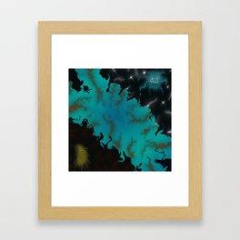 Idealism vs. Perception Framed Art Print
