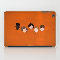 misfits iPad Cases featuring Minimalism Misfits  by Mercedes Lopez
