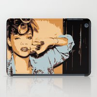 rihanna iPad Cases featuring Rihanna  by GOLDY