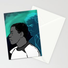 watching over you i Stationery Cards