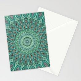 Mint Dreams Mandala Stationery Cards
