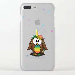 unicowl Clear iPhone Case