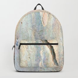 Eucalyptus tree bark and wood Backpack