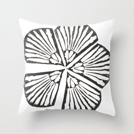 Unity | Botanical Print Throw Pillow