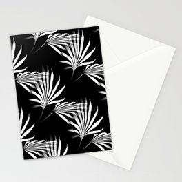 Tropical Leaves Palmetto Fronds Stationery Cards