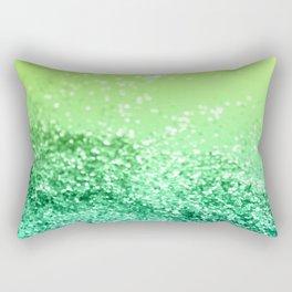 Tropical Beach Lady Glitter #3 #shiny #decor #art #society6 Rectangular Pillow