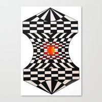 fibonacci Canvas Prints featuring Fibonacci by Jose Luis