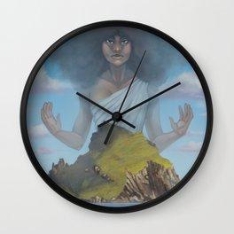 Protected Island Wall Clock
