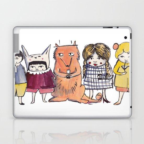 Moo Friends Laptop & iPad Skin