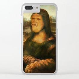 Mona Rilla Clear iPhone Case