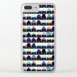 cats-67 Clear iPhone Case