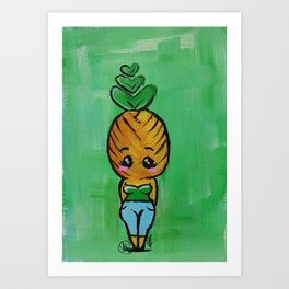 Fineapple Art Print