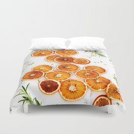 Pure Citrus (Color) Duvet Cover