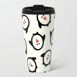 Happy Penguins Travel Mug