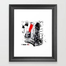 Warsaw Uprising, Poland - 1944 Framed Art Print