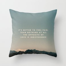 Stubborn Love Throw Pillow