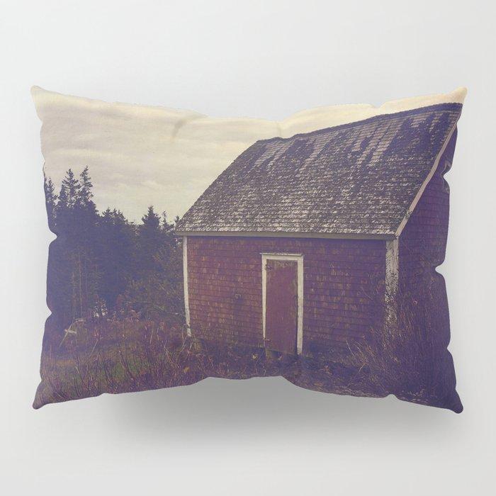 Red Barn Pillow Sham