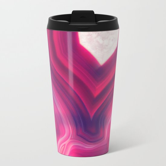 Luxury Agate Metal Travel Mug