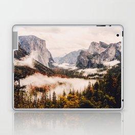 Amazing Yosemite California Forest Waterfall Canyon Laptop & iPad Skin
