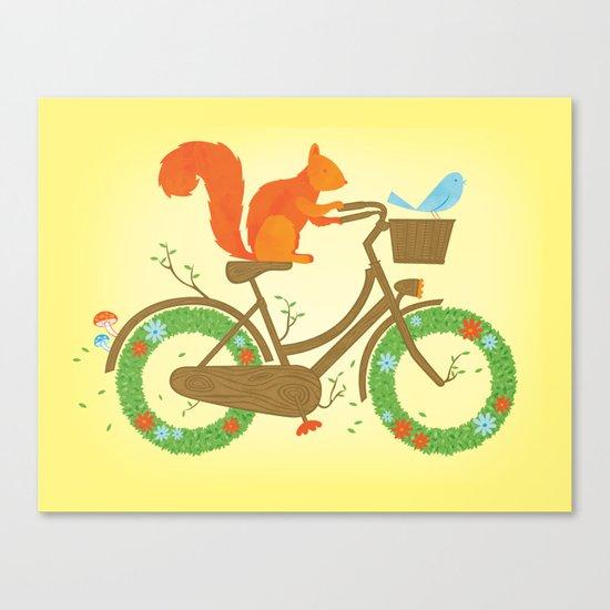 Natural Cycles Canvas Print