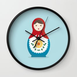 MATRYOSHKAS SERIES - ISOLDA Wall Clock