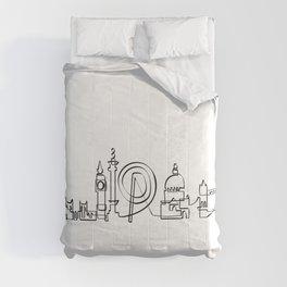 London Skyline Comforters