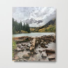Maroon Bells - Colorado Metal Print
