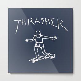 Thrasher Gonz Metal Print