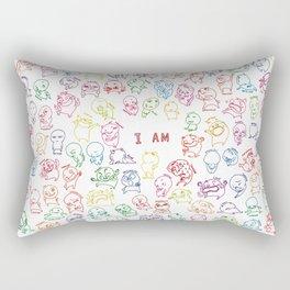 I am Rectangular Pillow
