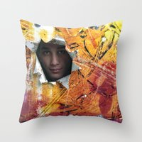 rio Throw Pillows featuring Rio by Bruce Stanfield