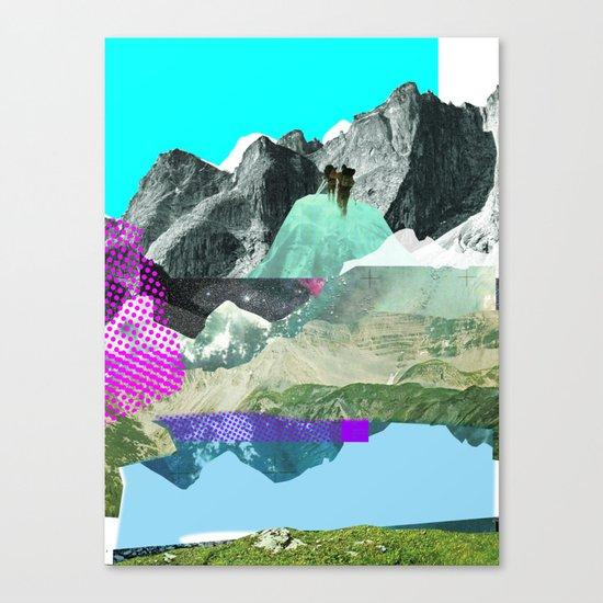 Experiment am Berg 8 Canvas Print