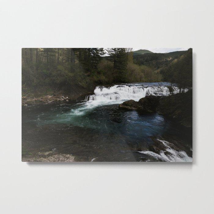 Washington Falls Metal Print