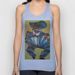 The Accordionist Unisex Tank Top