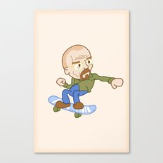 breaking badass. Canvas Print