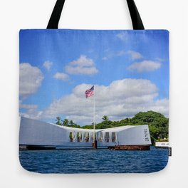 Perl Harbor Tote Bag