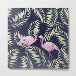 Flamingos #society6 Metal Print