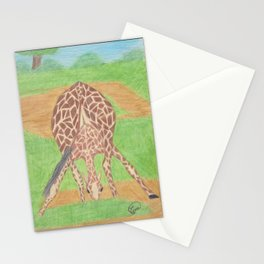 Yoga in Africa Stationery Cards