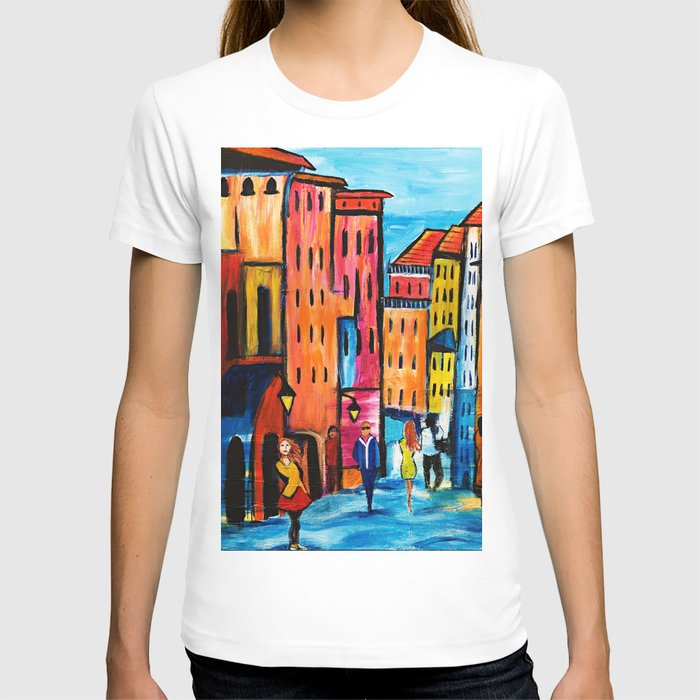 Afternoon Walk Downtown T-shirt