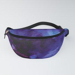 Purple Plumes Fanny Pack