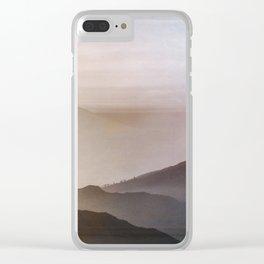 Hazy Dreams Clear iPhone Case