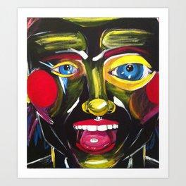Ecstasy Nightmare Art Print