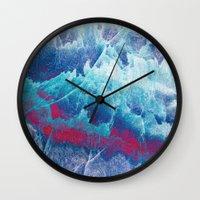 iceland Wall Clocks featuring Iceland by Fernando Vieira