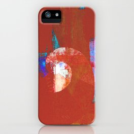 Tournament (knight terracotta) iPhone Case