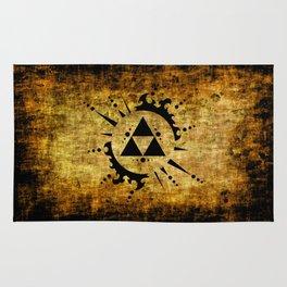 Legend Of Zelda Triforce Grunge Rug