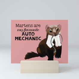 My favourite Auto mechanic Mini Art Print