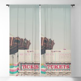 the ticket booth at the Bakersfield County Fair Blackout Curtain