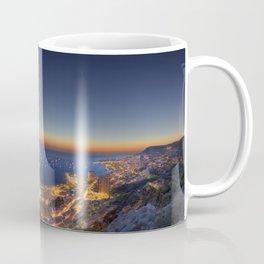 yacht sunset 2015 Coffee Mug