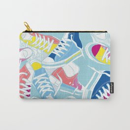 Sneakers pattern art Carry-All Pouch