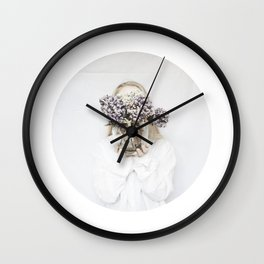dead flowers gift Wall Clock