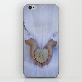 Heart of stone iPhone Skin